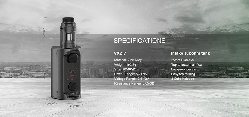 Augvape VX217 Kit Feature 8