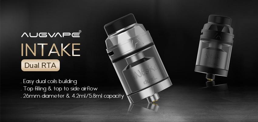 Augvape Intake Dual RTA Banner