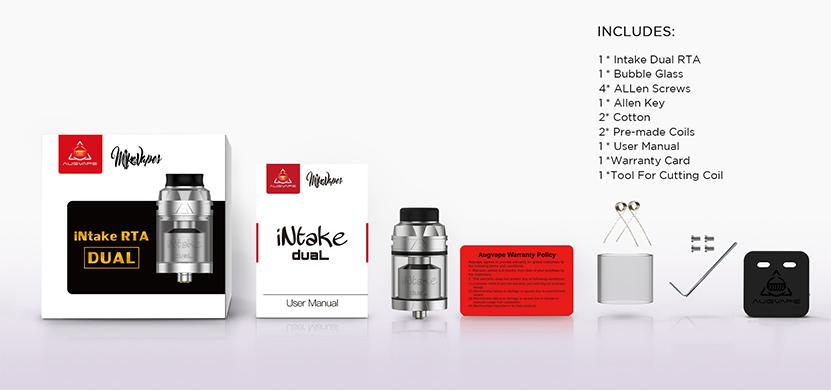 Augvape Intake Dual RTA Package