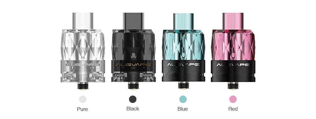Augvape Jewel Disposable Mesh Subohm Tank Colors