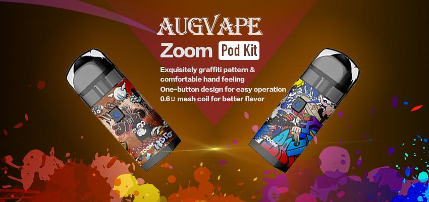 Augvape Zoom Pod Kit Banner