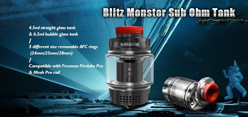 Blitz Monstor Sub Ohm Tank Banner