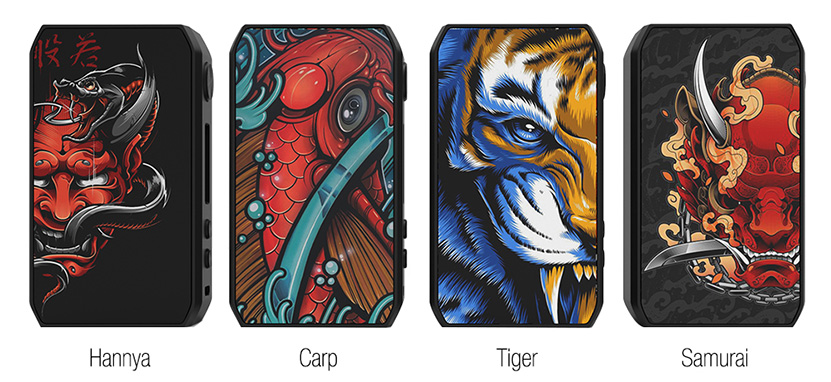 CIGPET Capo Box Mod Colors