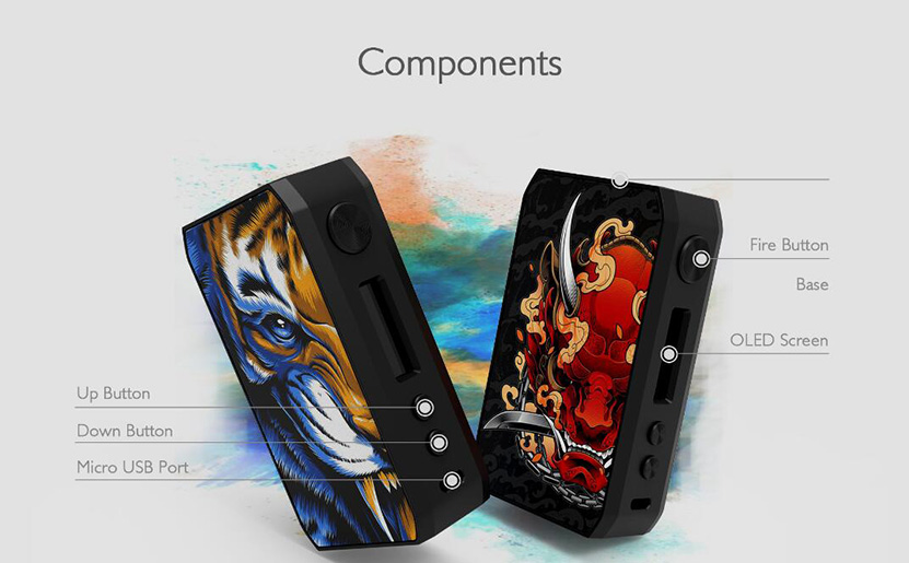 CIGPET Capo Box Mod Feature 1