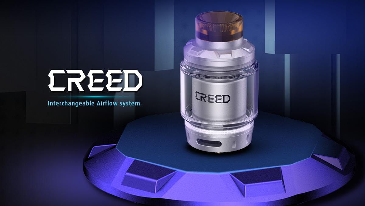 Geek Vape Creed RTA 6.5ml Rebuildable Tank Atomizer - Black