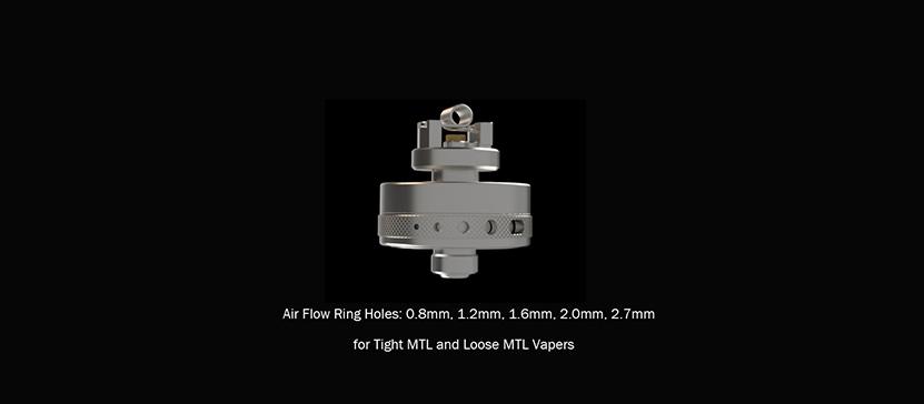 Cthulhu Artemis MTL Tank Airflow Ring Hole