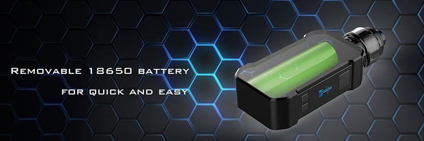 Curdo Hally TC Starter Kit Battery