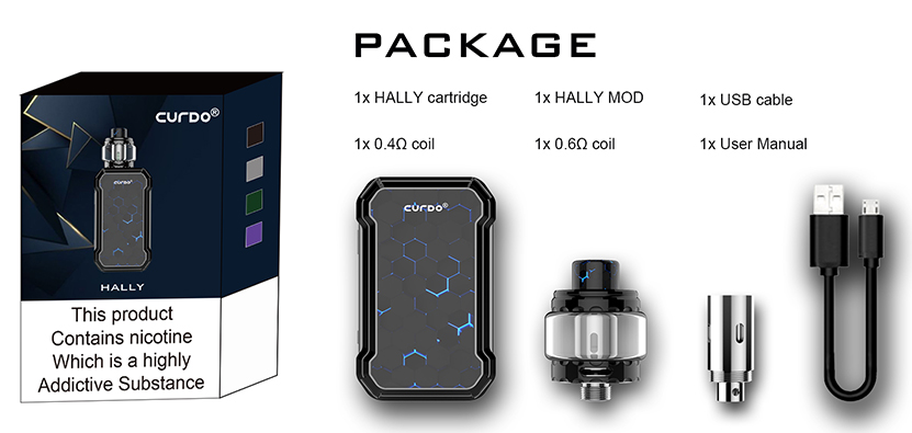 Curdo Hally TC Kit Package