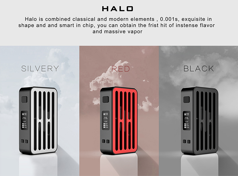Curdo Halo 218W Mod Features