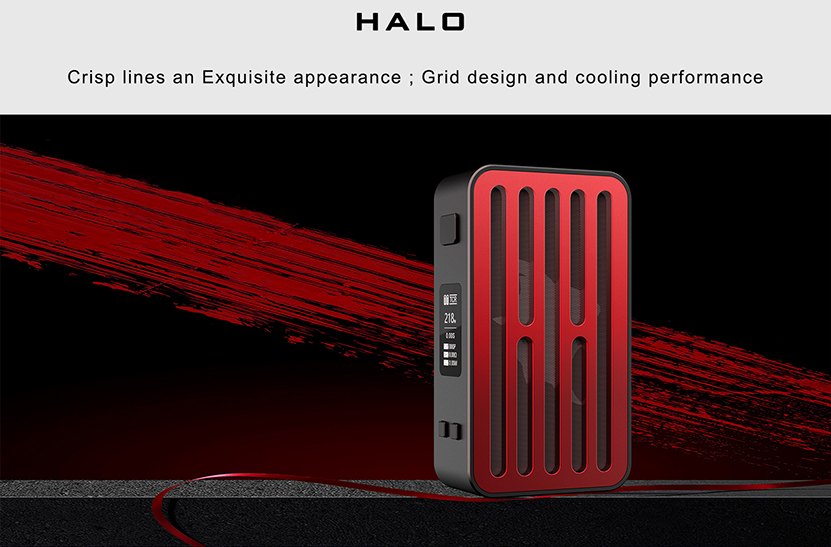 Curdo Halo 218W Box Mod Look