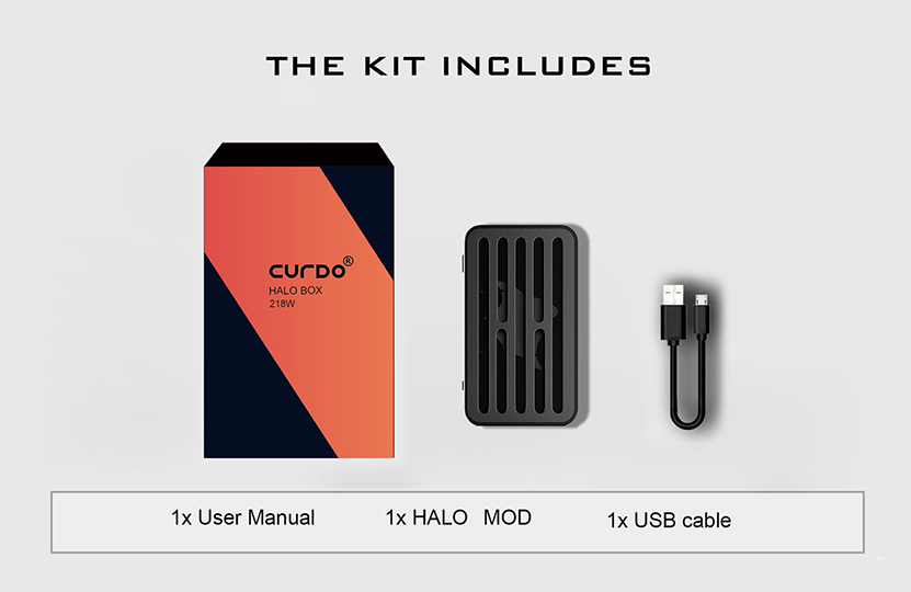 Curdo Halo Box Mod Package