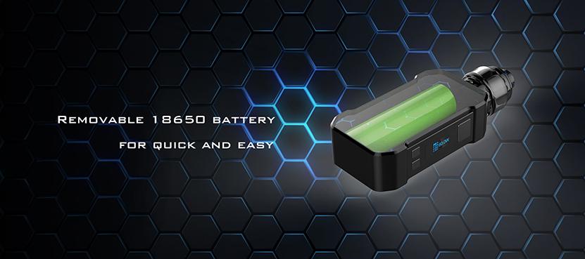 Curdo Hally Box Mod 18650 Battery