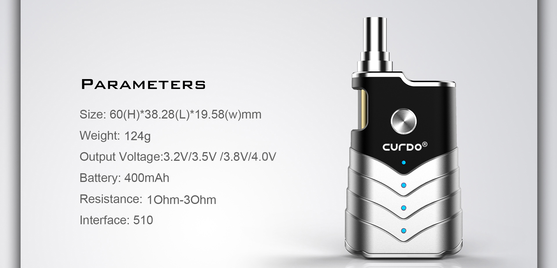 Curdo M-One Kit Parameter