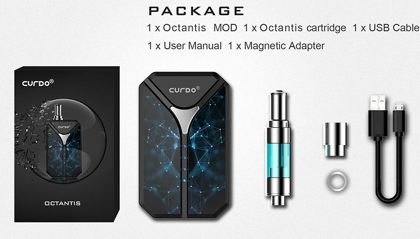 Curdo Octantis Kit Includes
