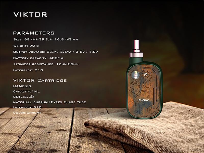Curdo Viktor CBD Kit Specification