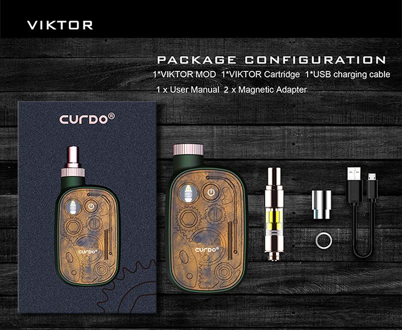 Curdo Viktor Vape Kit Package