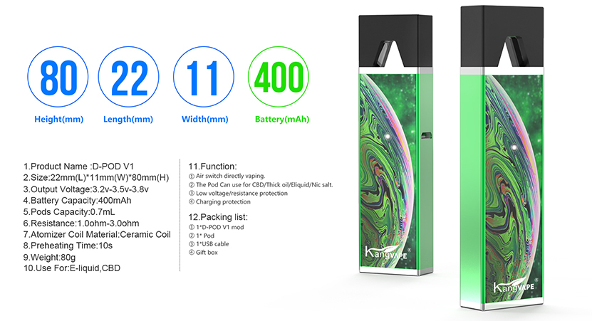 D-pod V1 Kit Specification