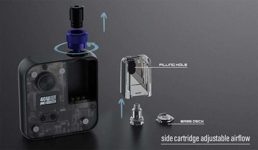 DEJAVU DJV Pocket AIO Kit component
