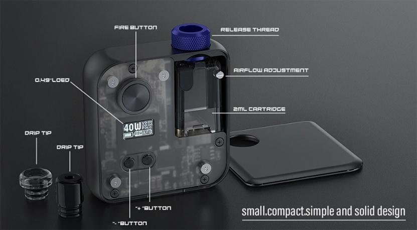 DEJAVU DJV Pocket AIO Kit detail