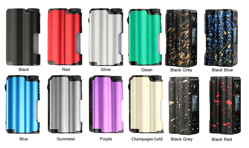 DOVPO Topside 90W Squonk Mod All Colors