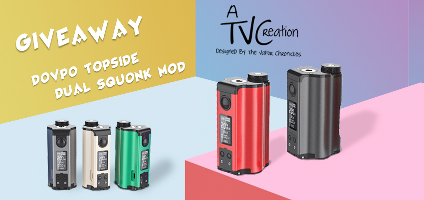 DOVPO Topside Dual Squonk Mod Banner
