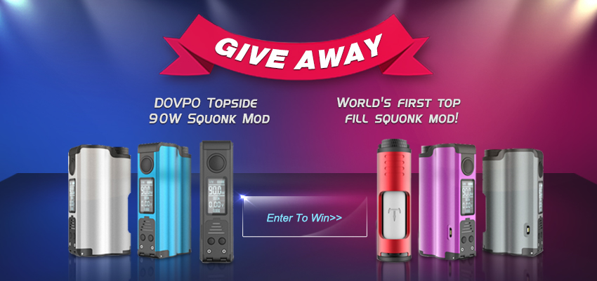 DOVPO Topside Squonk Mod Giveaway