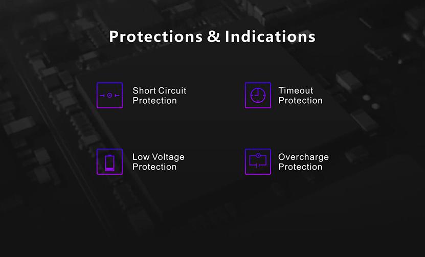 Damn Vape Fresia Pod System Starter Kit Protection