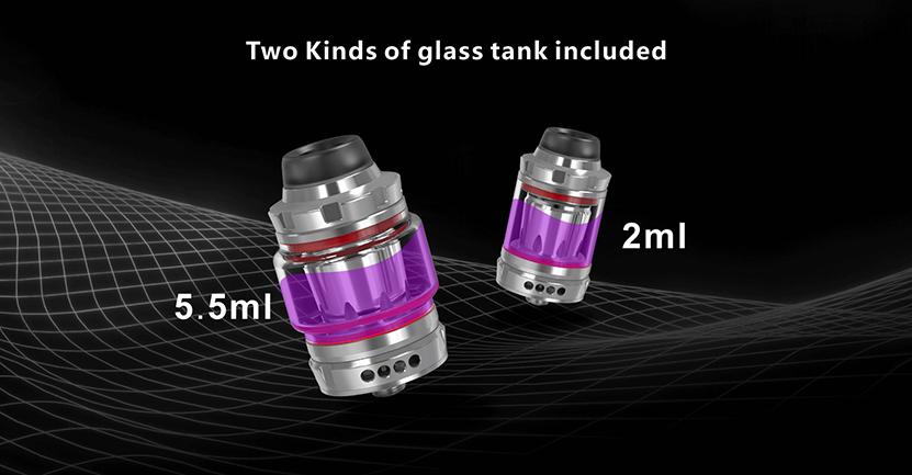 Wotan Sub Ohm Tank Juice Capacity