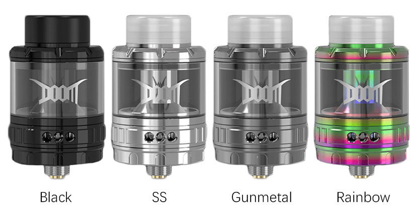 Damn Vape DOOM Mesh RTA Colors