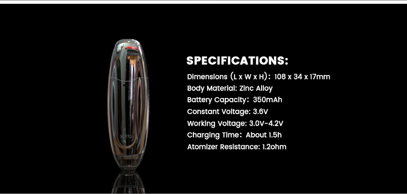 Boto Wax Pen Kit Specification