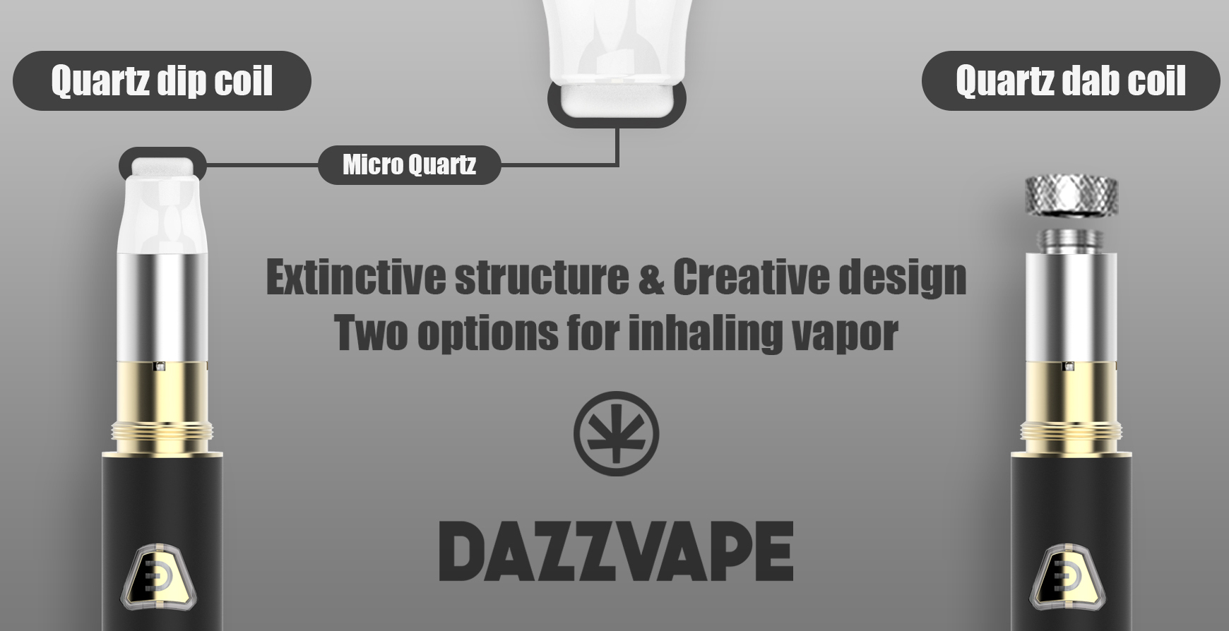 Dazzvape Acus Wax Pen Vaporizer Features 02