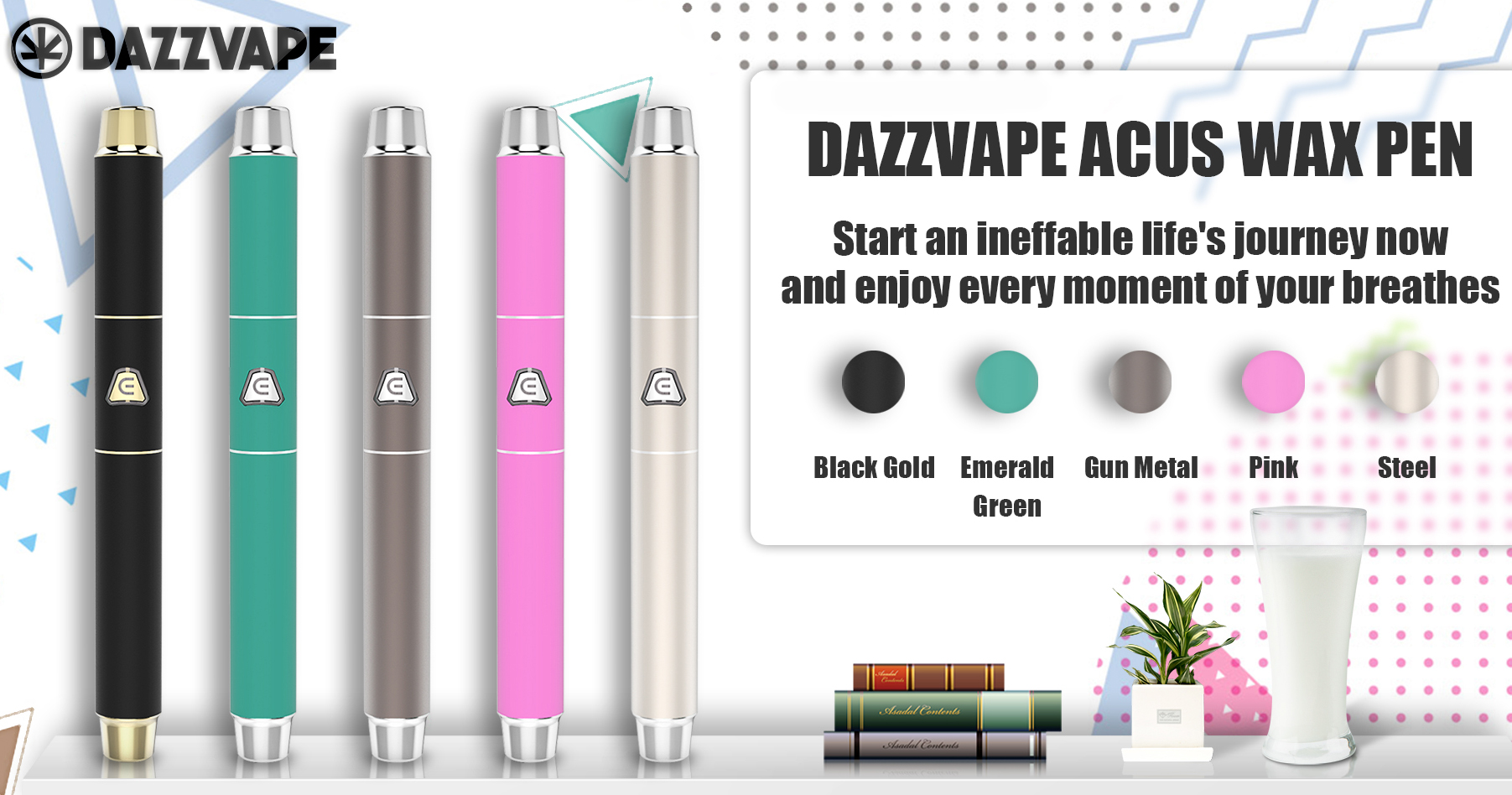 Dazzvape Acus Wax Pen Vaporizer Features 04