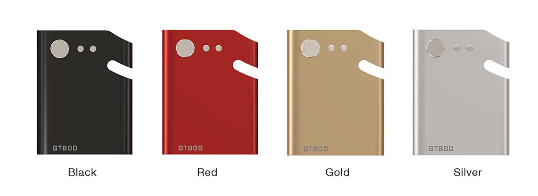 Dazzvape GT800 Battery Colors Detail