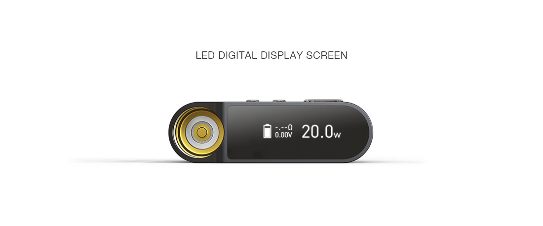 Dazzvape GT800 Battery LED