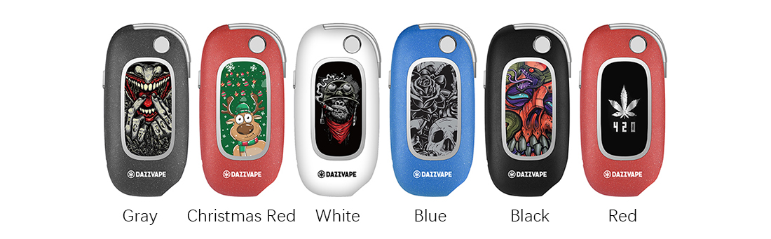 Dazzvape U-Key Vaporizer (Customize Image Design) Colors