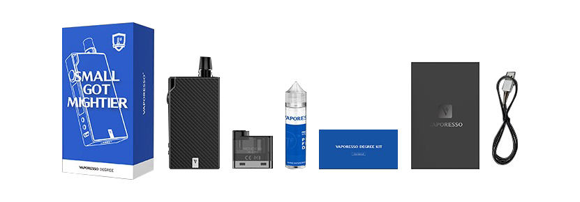 Vaporesso Degree Vape Pod System Kit Package