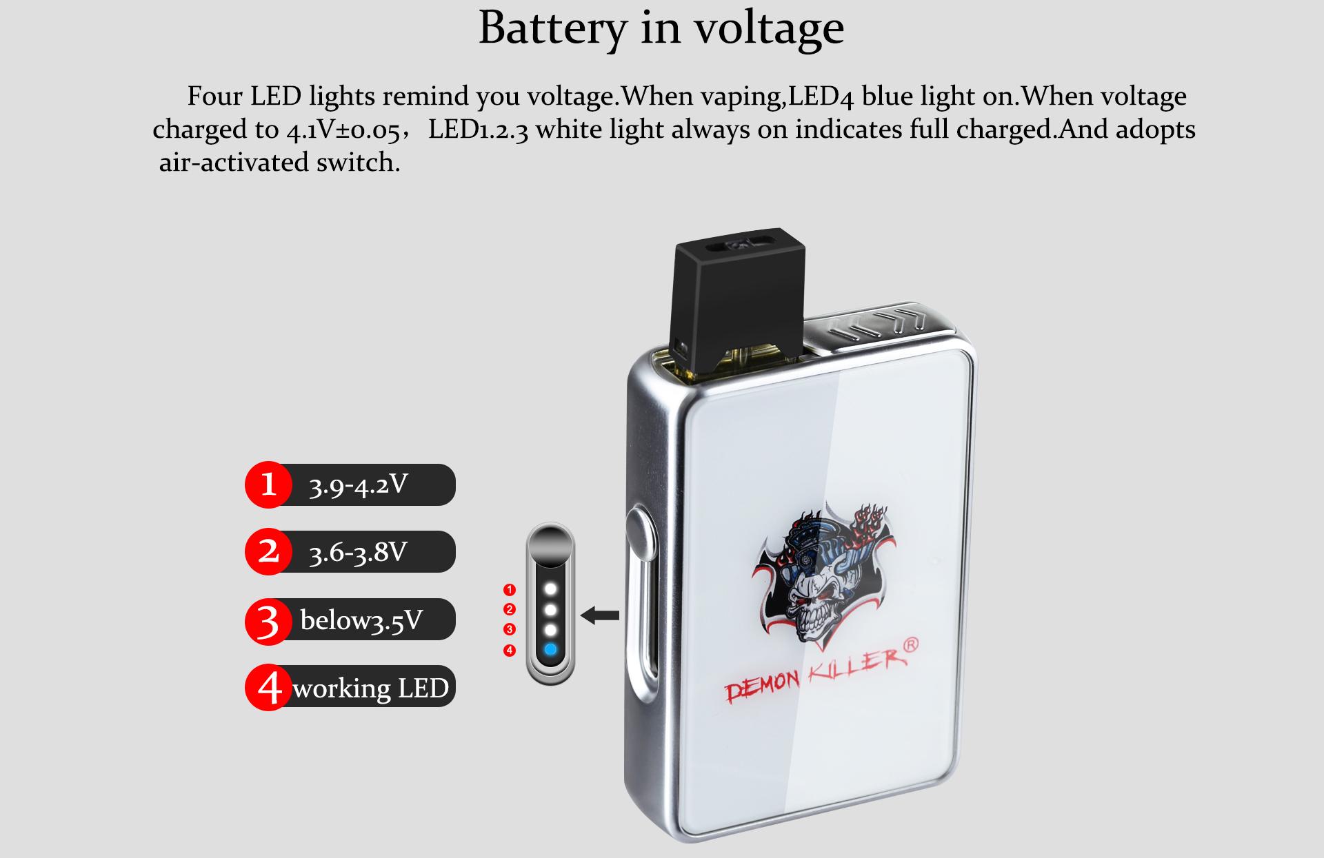 Demon Killer JBOX Mod Voltage