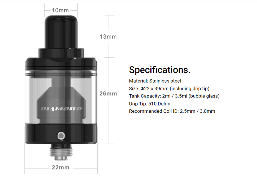 Diamond MTL RTA Specification