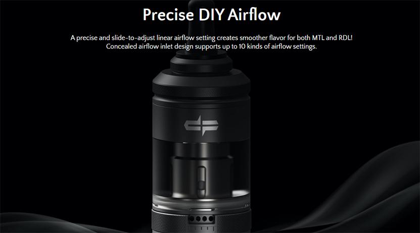 Digiflavor SG MTL Kit airflow