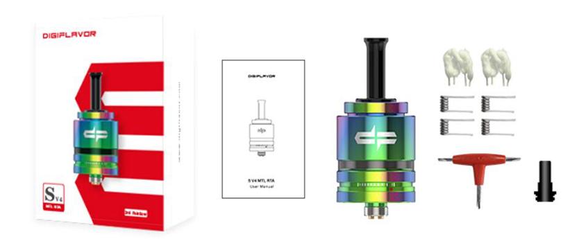 Digiflavor S RTA V4 package