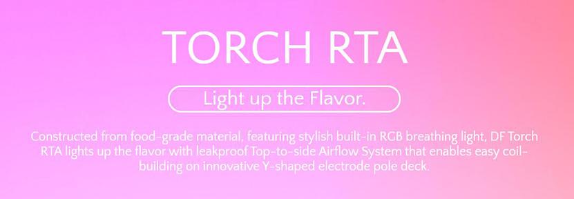 Digiflavor Torch RTA Tank Flavor