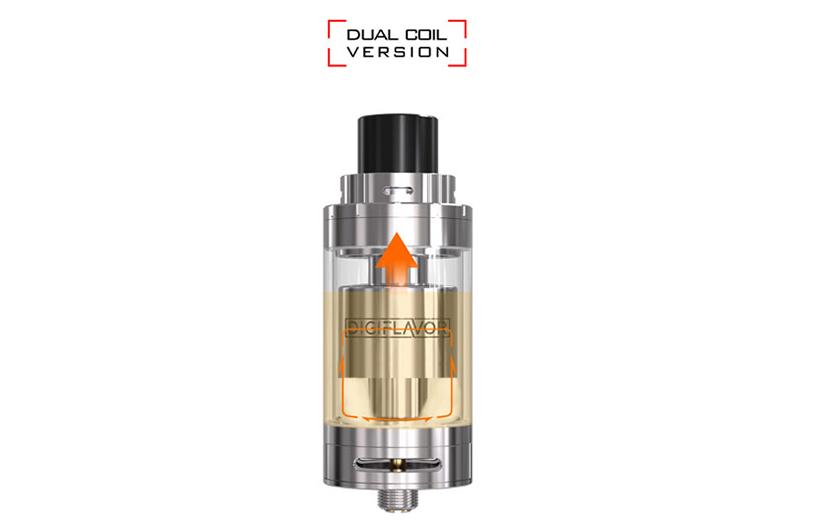 Fuji GAT Vape Tank Smooth Liquid