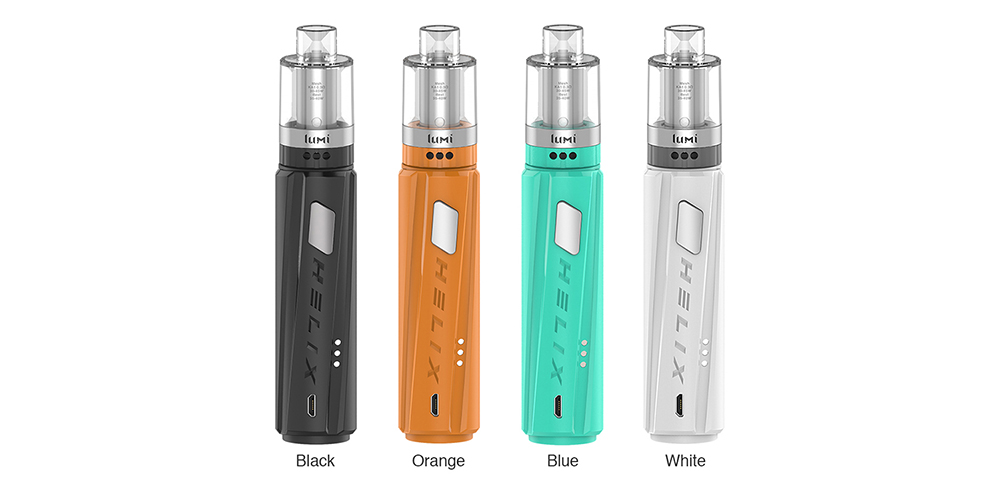 Digiflavor Helix Kit with Lumi Tank Colors