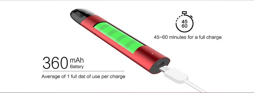 CG Pod System Starter Kit Battery