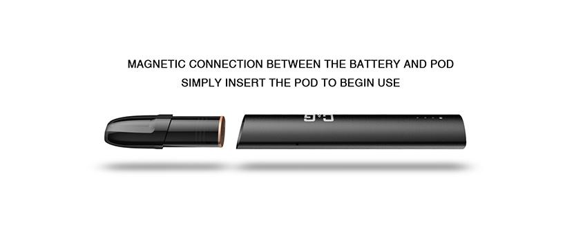 CG Pod System Vape Kit Connection