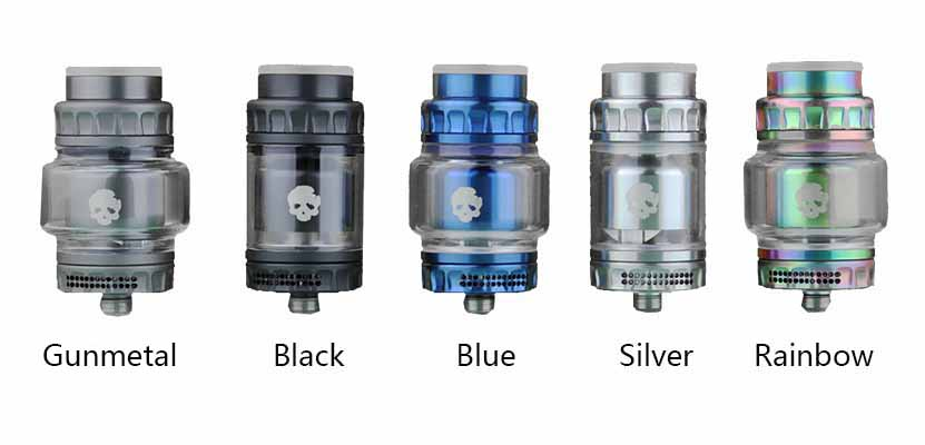 DOVPO x Vaping Bogan Blotto Mini RTA Full Colors