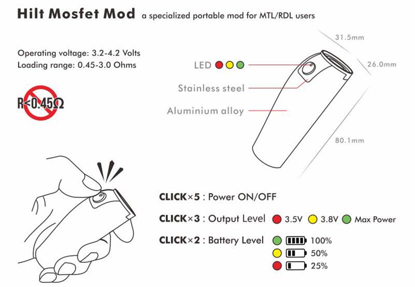 DOVPO Hilt Mosfet Mod Feature 1