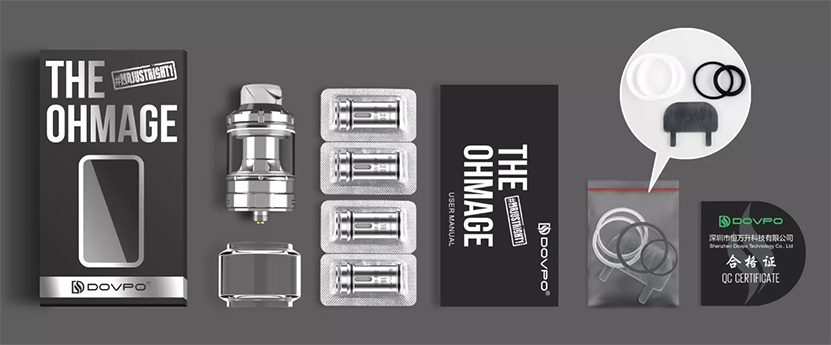 DOVPO Ohmage Sub Ohm Tank Feature Package