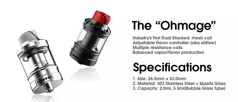 DOVPO Ohmage Sub Ohm Tank Feature 4