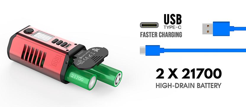 Odin 200 Battery Mod Dual 21700